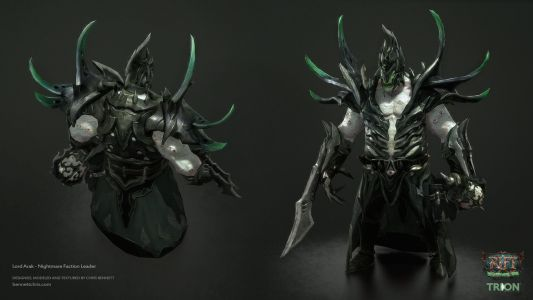 Lord Arak Front/Back (Chris Bennett)