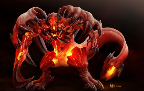 Fire Colossus By Ijur