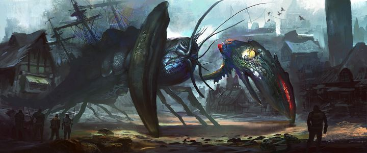 Water Colossus - Crustacean King By Ewkn
