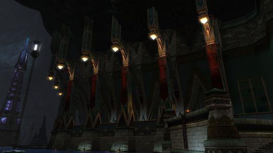 Banners in Hammerknel Habour