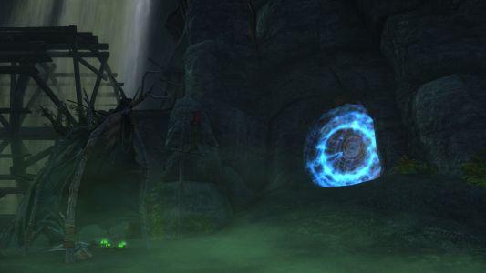The Entrance to Darkening Deeps