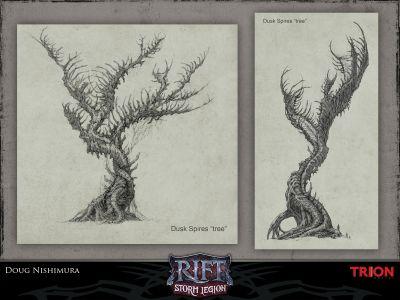 Dusken Trees
