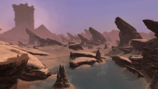 Ahnket Looms Over Caustic Oasis
