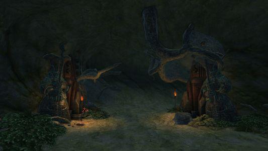 Underground Passage to Runic Athenaeum