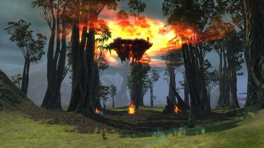 Fire Rift in Stone Grove