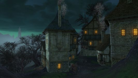 Briarcliff At Night