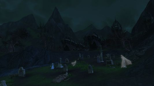 Graveyard At Thalin Tor