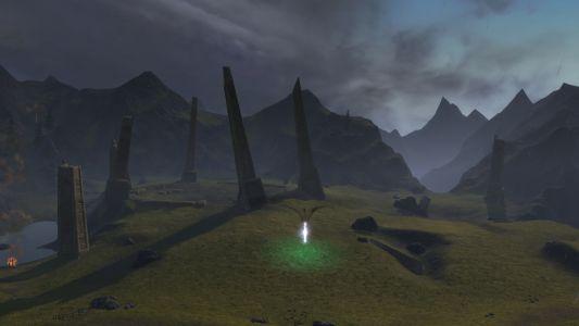 A Tear Near Titan's Well